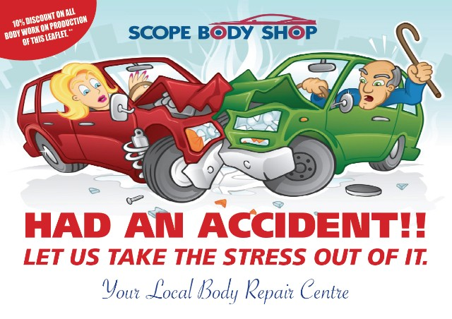 scope body shop leaflets